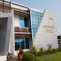 Headquarters of Laos Airport Authority in Vientiane