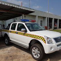 Newly acquired patrol vehicle