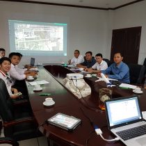 Staff from Wattay and Luang Prabang irports receive training at LAA